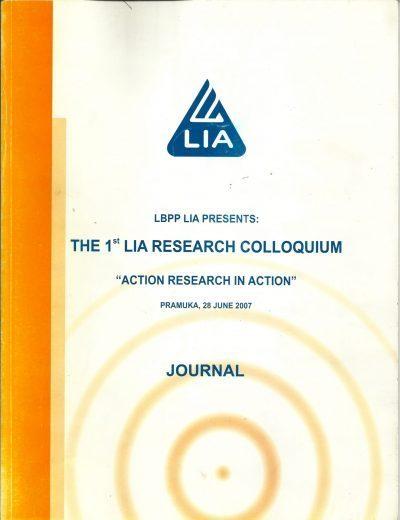 CAR Journal Volume 1